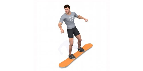بدنسازی - حرکت ورزشی اسنوبرد